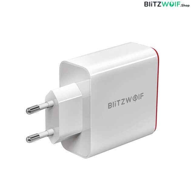 BlitzWolf BW-PL3: Dual USB hálózati gyorstöltő