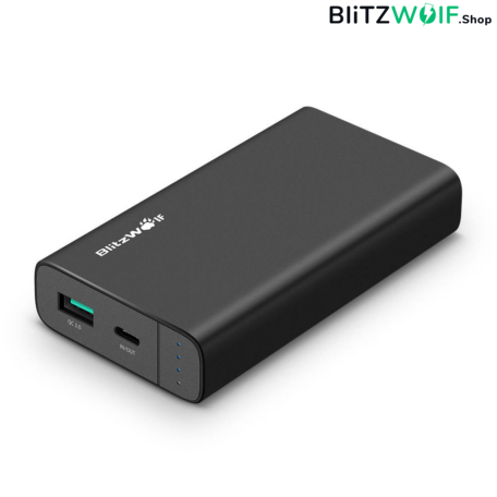 BlitzWolf® BW-PF2: 10000mAh Type-C Power Bank