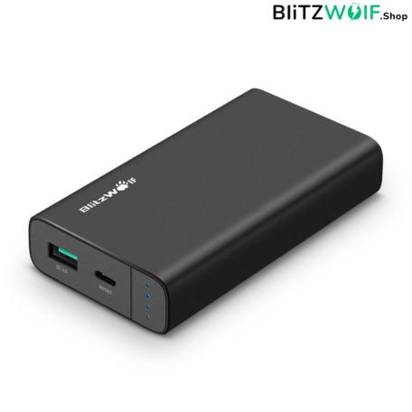 BlitzWolf® BW-PF2: 10000mAh Type-C Power Bank