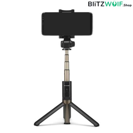 BlitzWolf® BW-BS3: 360 fokos multifunkciós selfie bot