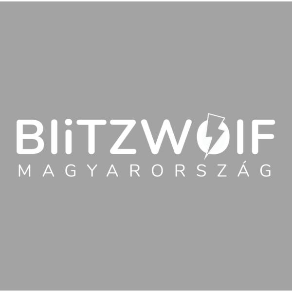 BlitzWolf® BW-LT26: vezeték nélküli gyorstöltő pad 10W teljesítménnyel és leszerelhető lámpával