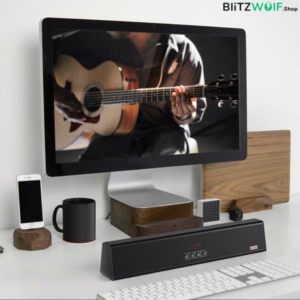 BlitzWolf® BW-SDB0: 1200mAh vezeték nélküli mini Bluetooth hangszóró (10W)
