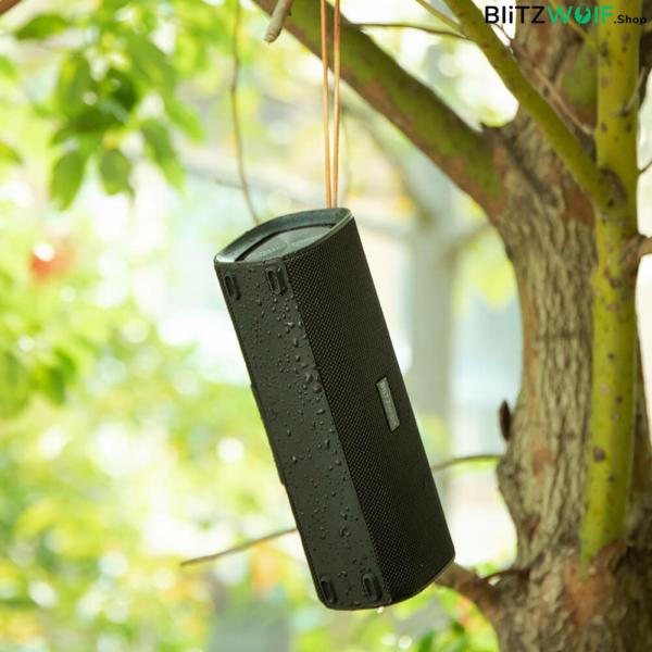 BlitzWolf® BW-WA2: vezeték nélküli vízálló Bluetooth hangszóró (20W)