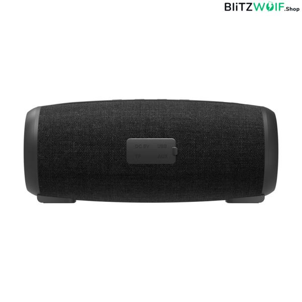 BlitzWolf® BW-WA1: 1200mAh vezeték nélküli Bluetooth hangszóró 360 fokos térhangzással (12W)