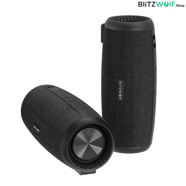 BlitzWolf® BW-WA1: 1200mAh vezeték nélküli Bluetooth hangszóró 360 fokos térhangzással (12W)BlitzWolf® BW-WA1: 1200mAh vezeték nélküli Bluetooth hangszóró 360 fokos térhangzással (12W)