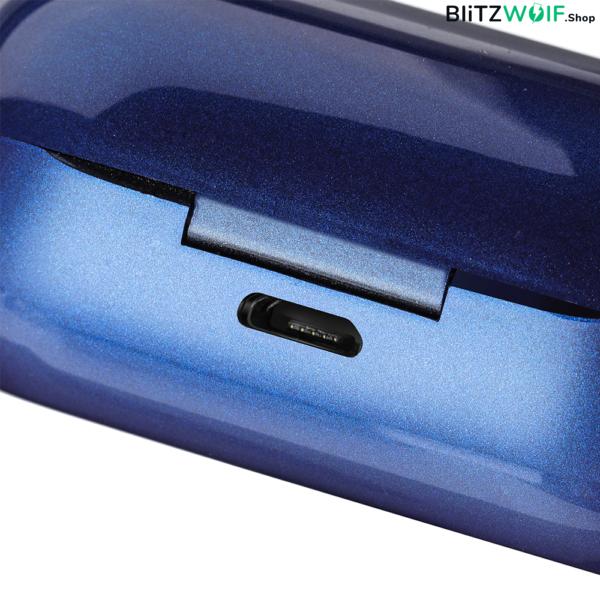 BlitzWolf® BW-FYE5: teljesen vezeték nélküli mini fülhallgató töltődobozzal, Bluetooth 5.0 (IPX6)