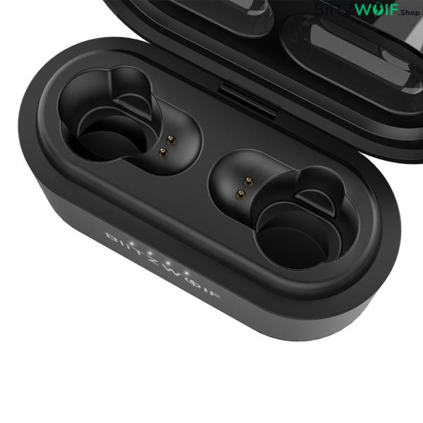 BlitzWolf® BW-FYE7: teljesen vezeték nélküli (Dual Dynamic Driver) fülhallgató töltődobozzal