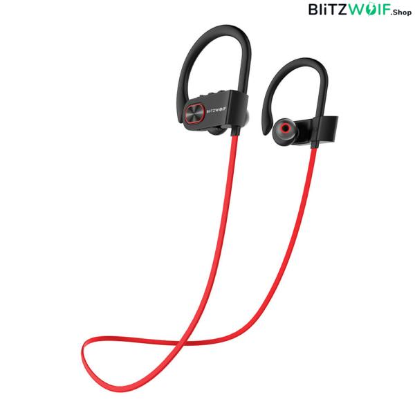 BlitzWolf® BW-BTS2 Sport: vízálló bluetooth-os fülhallgató (IPX7)