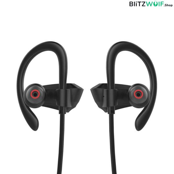 BlitzWolf® BW-BTS3 Sport: vízálló bluetooth-os fülhallgató extra mély basszussal