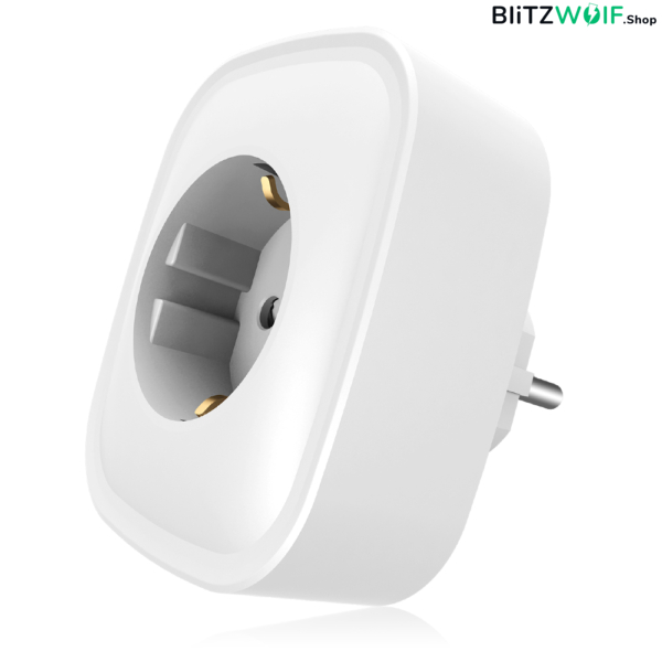 BlitzWolf® BW-SHP2: okos WIFI foglalat 220V 16A (Amazon Alexa, Google Assistant, BlitzWolf APP)