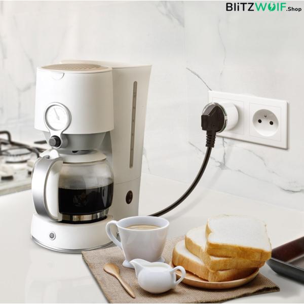 BlitzWolf® BW-SHP6: okos WIFI foglalat 220V-240V 10A (Amazon Alexa
