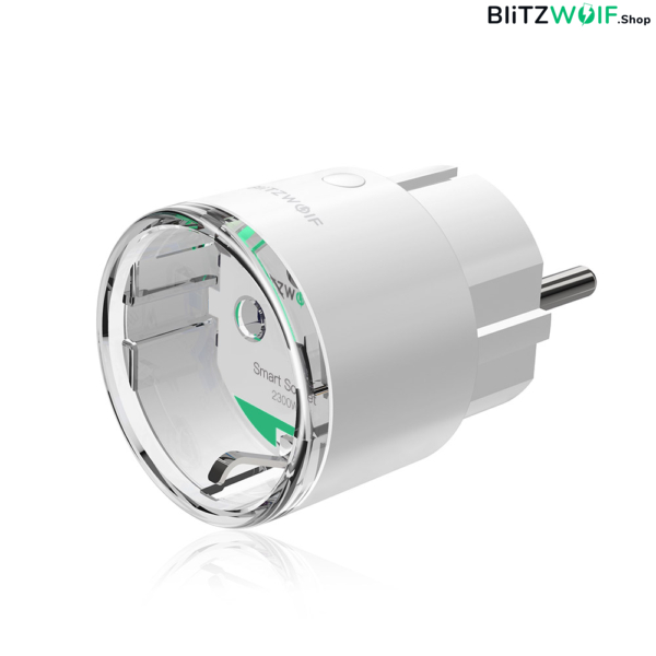 BlitzWolf® BW-SHP6: okos WIFI foglalat 220V-240V 10A (Amazon Alexa, Google Assistant, BlitzWolf APP)