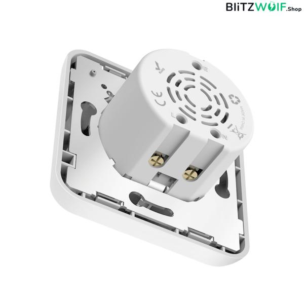 BlitzWolf®BW-SHP8: wifis, internetről távvezérelhető okos dugalj (3680W, 16A)
