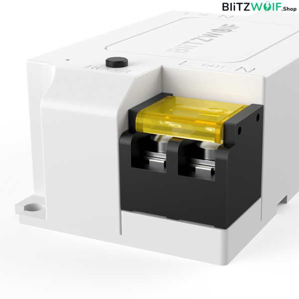 BlitzWolf® BW-SS1: wifis, internetről távvezérelhető kapcsoló relé (3300W, 15A)
