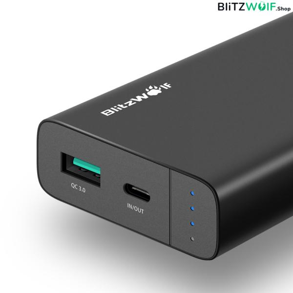 BlitzWolf® PowerStorm BW-PF2 10000mAh 18W QC3.0 Type-C Power Bank
