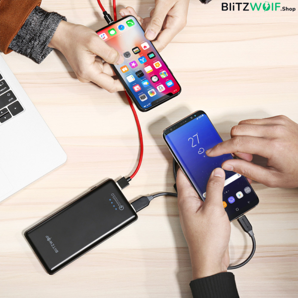BlitzWolf® BW-P6: 10000mAh QC 3.0 Dual USB Power Bank