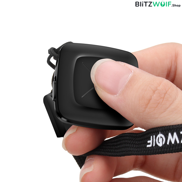 BlitzWolf® BW-BS7: Octopus hajlítható lábú bluetooth selfie bot okostelefonhoz és kamerához - Fekete