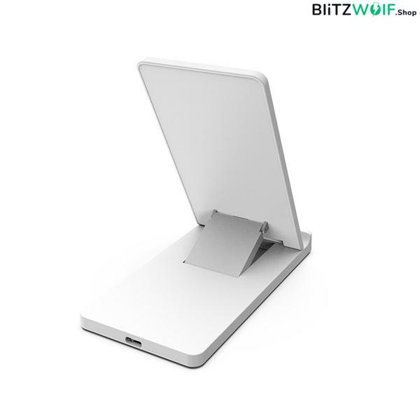 BlitzWolf® BW-FWC2: összecsukható vezeték nélküli gyorstöltő (iPhone 8
