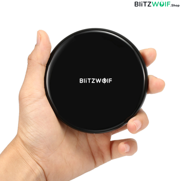 BlitzWolf® BW-FWC3: vezetéknélküli gyorstöltő pad (iPhone X