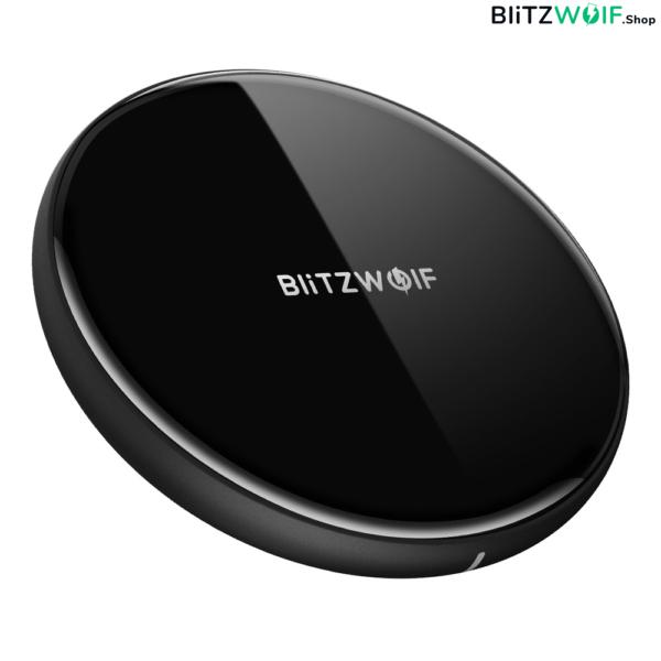 BlitzWolf® BW-FWC3: vezetéknélküli gyorstöltő pad (iPhone X, Samsung S8)