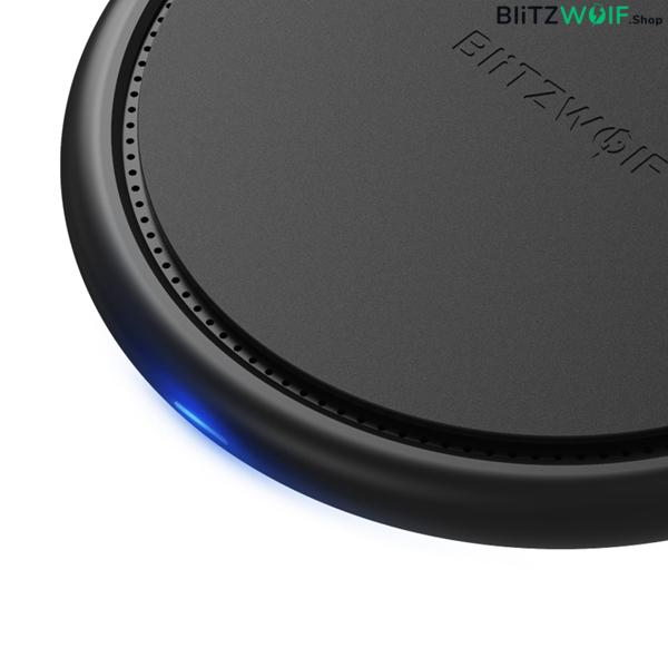 BlitzWolf® BW-FWC5: vezeték nélküli gyorstöltő pad 10W teljesítménnyel