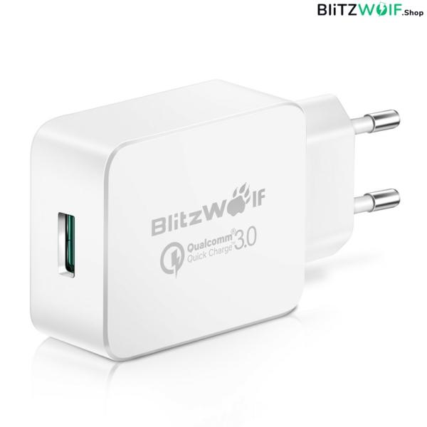 BlitzWolf® BW-S5: USB hálózati gyorstöltő - 18W