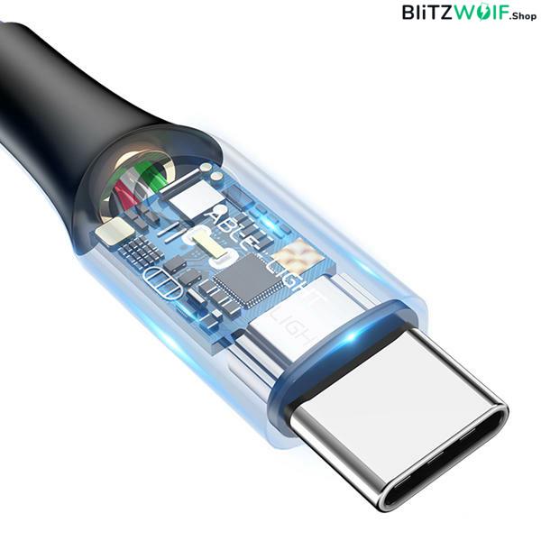 Baseus® Type-C töltő- és adatkábel (1m) -  Fekete