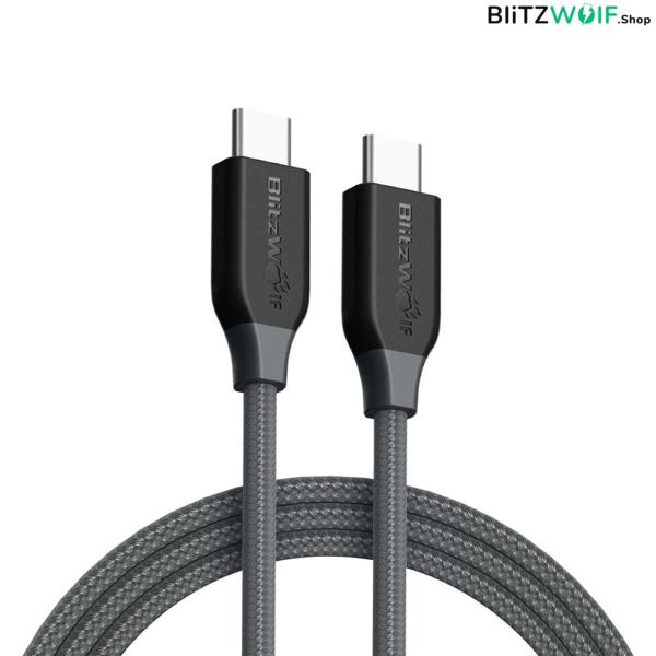 BlitzWolf® BW-TC4: Type-C-Type-C töltő- és adatkábel