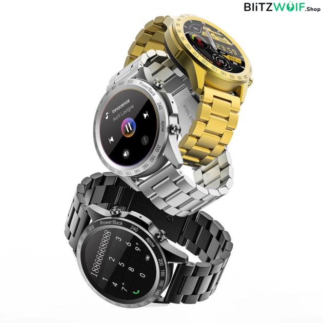 BlitzWolf BW-HL4 intelligens óra Bluetooth hívással és tárcsázással