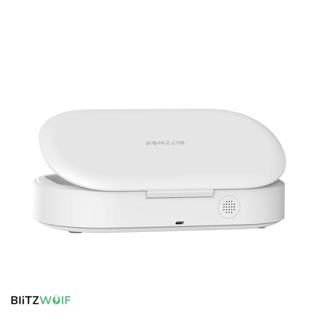 BlitzWolf® BW-FUN5: UV fertőtlenitő doboz, sterilizáló kisebb tárgyakhoz