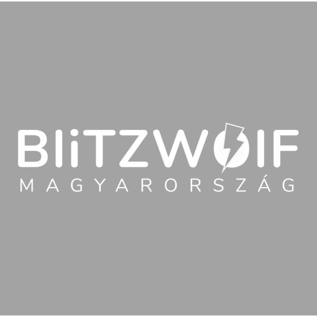 BlitzWolf® BW-S18: 65W-os gyorstöltő adapter dupla töltő porttal (GaN tech)