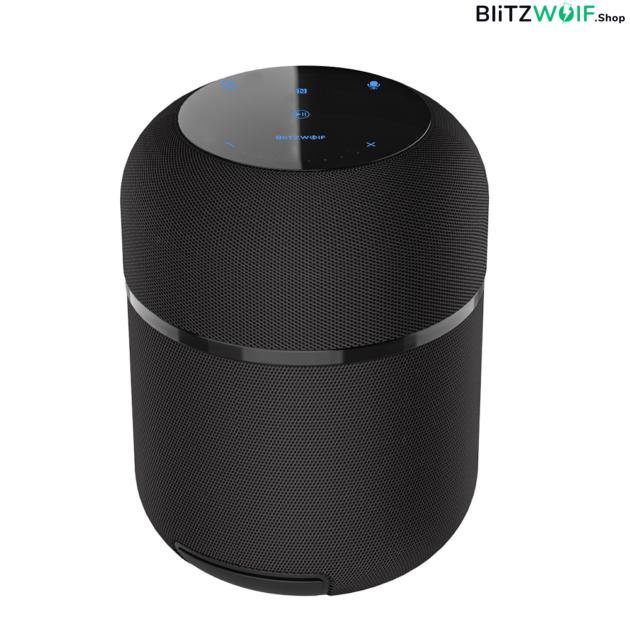 BlitzWolf® BW-AS3: 12000mAh vezeték nélküli Bluetooth hangszóró beépített mélynyomóval (70W)