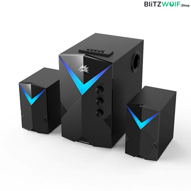 BlitzWolf® BW-GT2: hangrendszer - 2.1, 20 W teljesítmény - Fekete 1