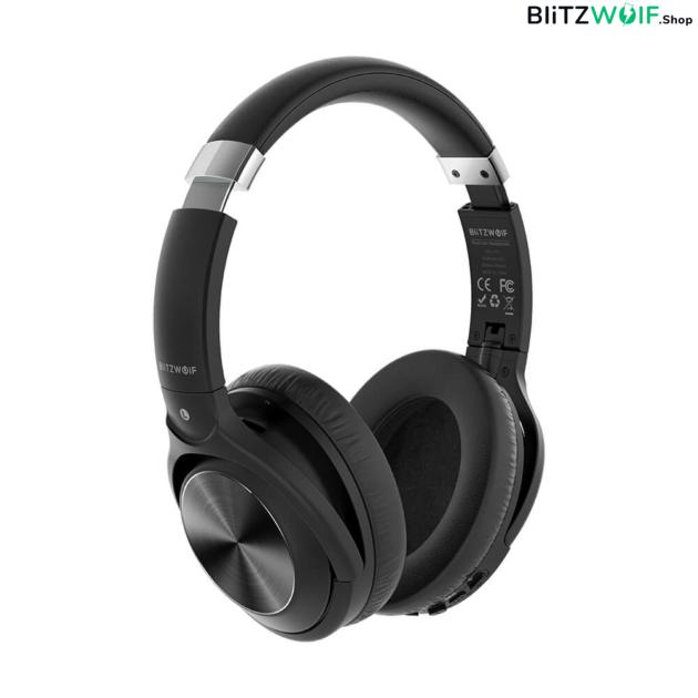 BlitzWolf® BW-HP3: vezeték nélküli Bluetooth fejhallgató beépített mikrofonnal 1