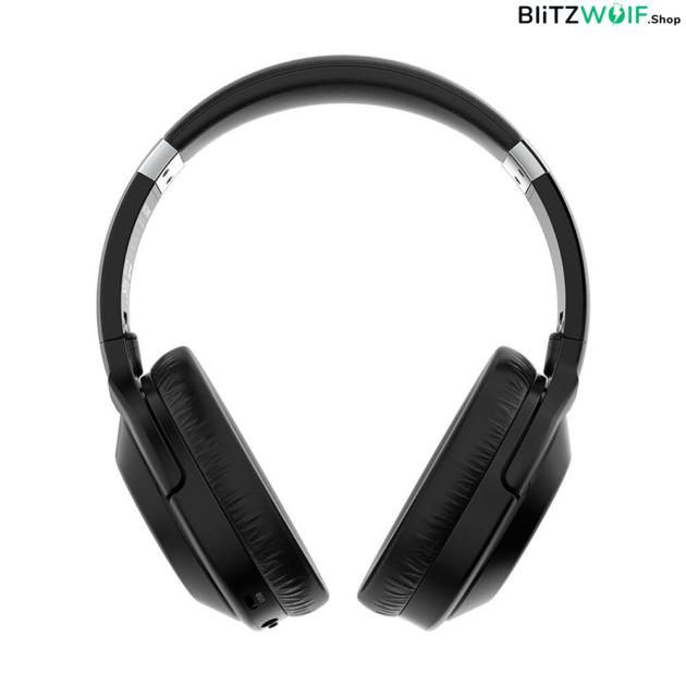 BlitzWolf® BW-HP3: vezeték nélküli Bluetooth fejhallgató beépített mikrofonnal
