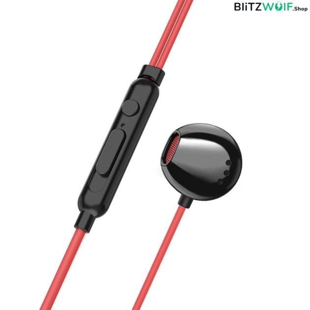 BlitzWolf® AIRAUX AA-HE1: Dual Dynamic Driver In-ear mikrofonos fülhallgató