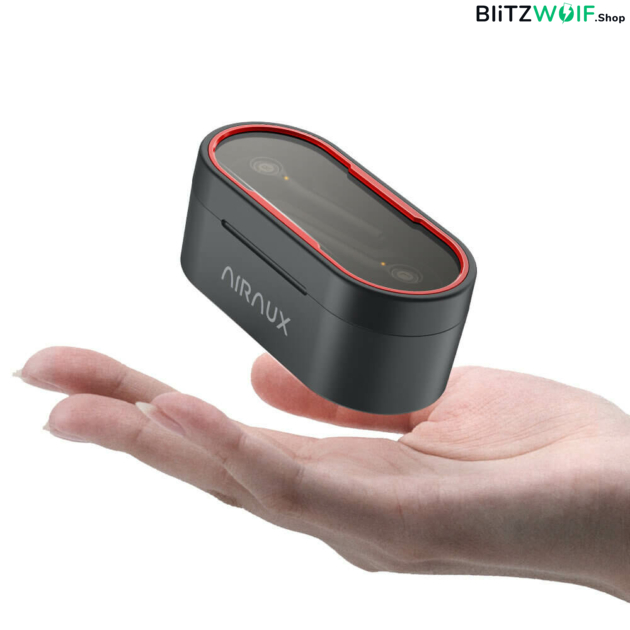 BlitzWolf® AirAux AA-UM7: TWS bluetooth 5.0 fülhallgató töltődobozzal