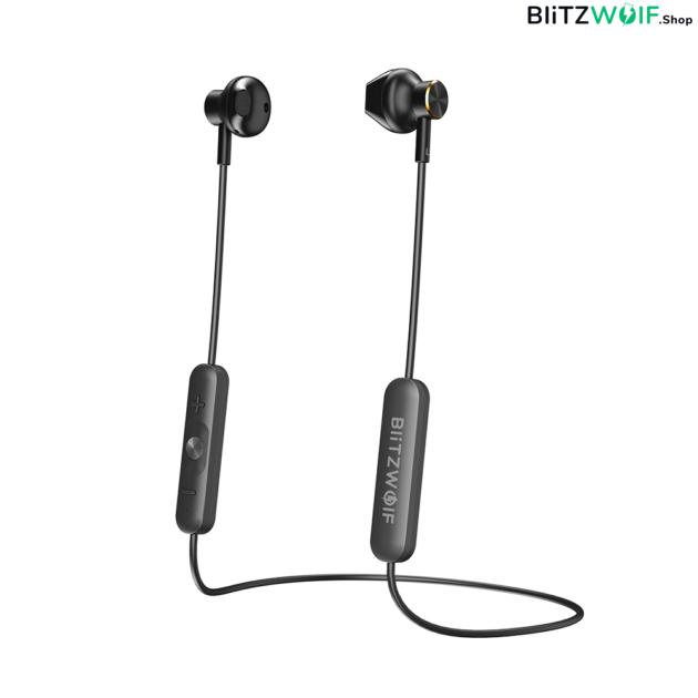 BlitzWolf® BW-BTS5: mágneses vezeték nélküli fülhallgató (IPX5) 1