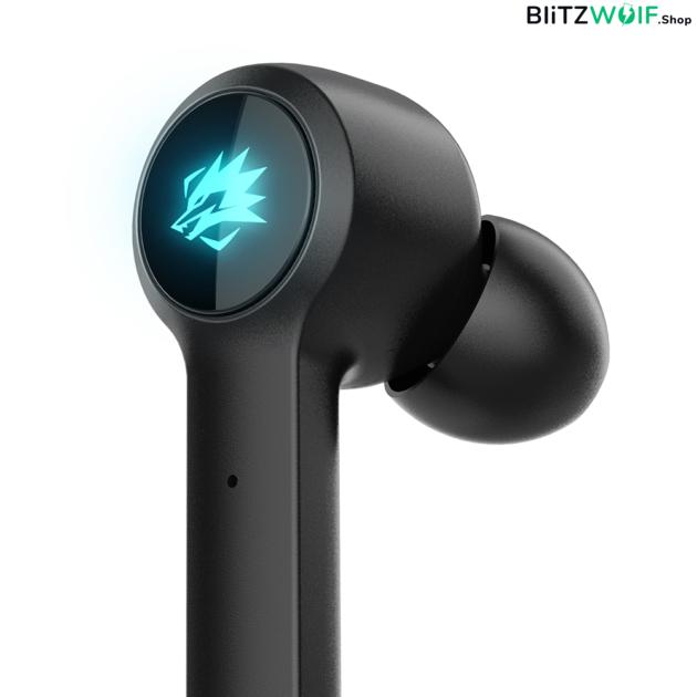 BlitzWolf® BW-FLB2: teljesen vezeték nélküli Gamer fülhallgató töltődobozzal