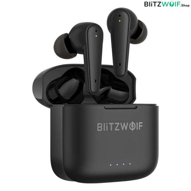 BlitzWolf® BW-FYE11: teljesen vezeték nélküli fülhallgató aktív zajszűréssel