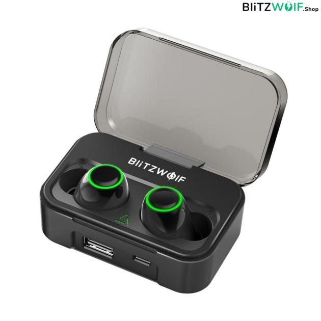 BlitzWolf® BW-FYE3: vezeték nélküli prémium fülhallgató (2600 mAh töltődobozzal - IPX6) 1