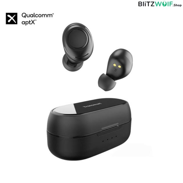 Tronsmart Onyx Free: vezeték nélküli fülhallgató, beépített UV fertőtlenítés (aptX)
