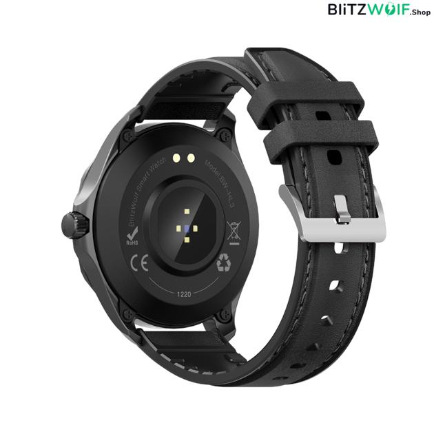 BlitzWolf BW-HL3: érintőkijelzős aktivitásmérő okosóra vérnyomás és pulzusmérővel