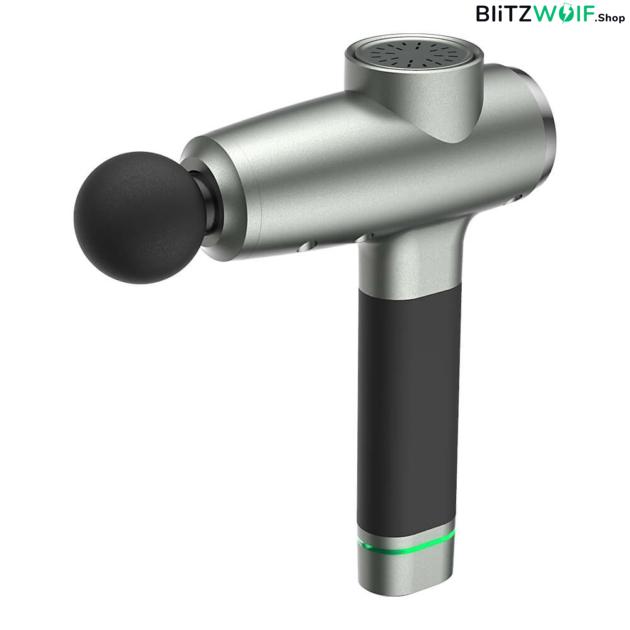 BlitzWolf BW-FAS2: elektromos masszázspisztoly, 6 db masszázsfejjel 1