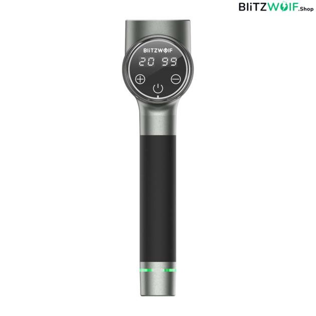 BlitzWolf BW-FAS2: elektromos masszázspisztoly 6 db masszázsfejjel