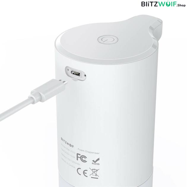 BlitzWolf® BW-FD3: automatikus érintésmentes habszappan adagoló (300ml)