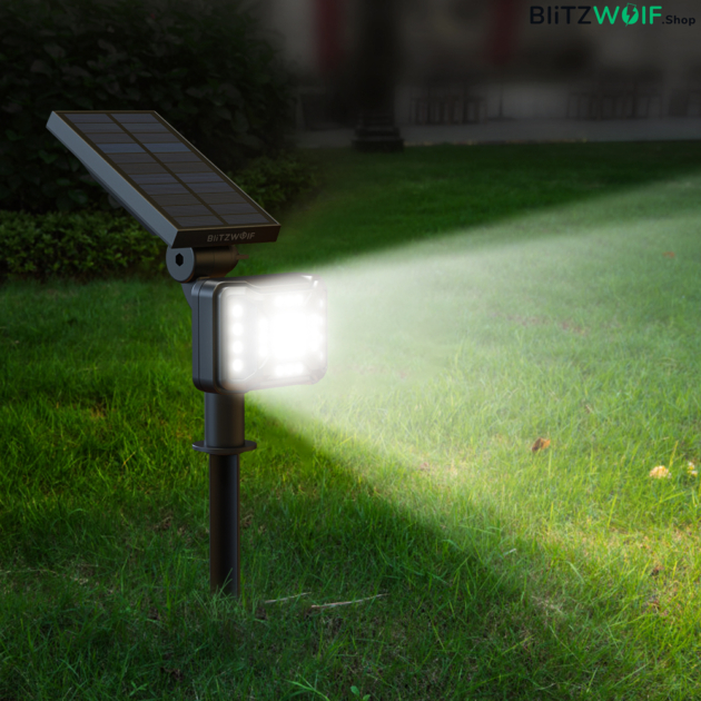 BlitzWolf® BW-OLT2: vízálló napelemes lámpa (21 LED)