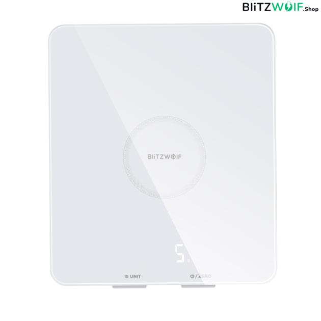 BlitzWolf® BW-SC4: LED kijelzővel ellátott konyhai mérleg