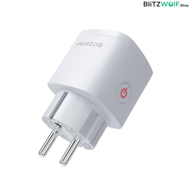 BlitzWolf® BW-SHP13: wifis, internetről távvezérelhető okos dugalj (3680W, 16A)