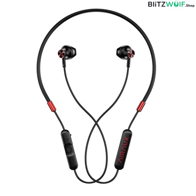 BlitzWolf® AIRAUX AA-NH2: dual dynamic driver vezeték nélküli fülhallgató (IPX5)